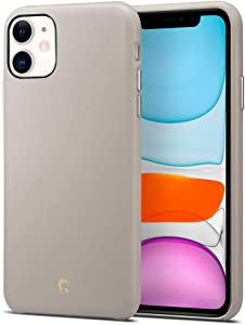 iPhone 11 case, CYRILL Basic Leather Designed for Apple iPhone 11 Case (2019) - Taupe