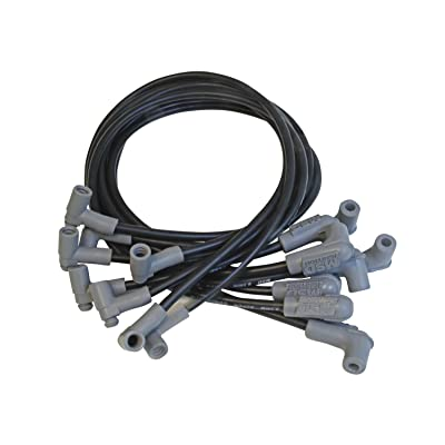 MSD 35593 Black 8.5mm Super Conductor Spark Plug Wire Set: Automotive