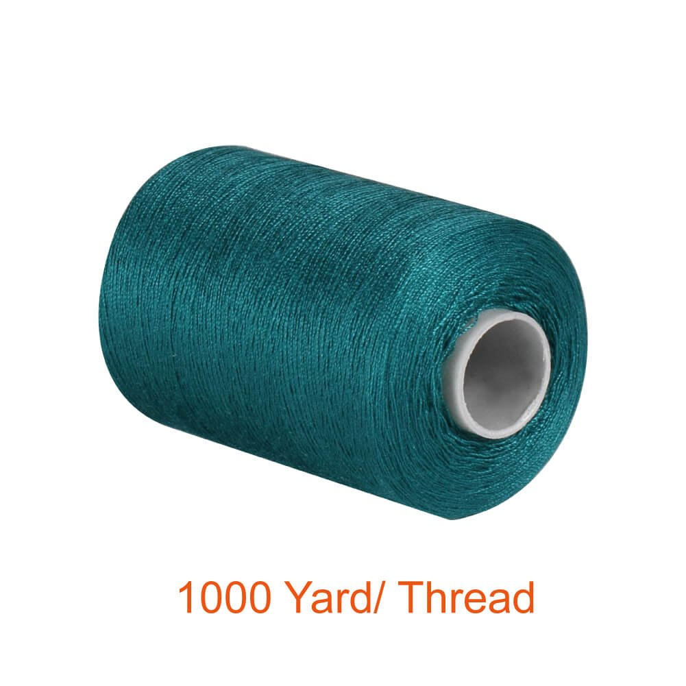 HT/_SK04 HAITRAL Sewing Thread 24 Colors 1000 Yards Cotton Thread Sets Spools Thread for Sewing Machine