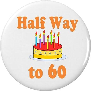 Amazon.com: A mitad de camino 60/30 años de edad (Feliz ...