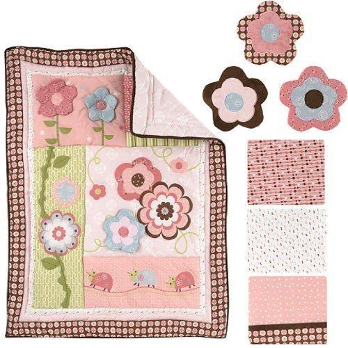 Graco 7 Piece Crib Bedding Set, Garden Girl (Discontinued by Manufacturer) by Graco [並行輸入品]   B00ZSQK7QI