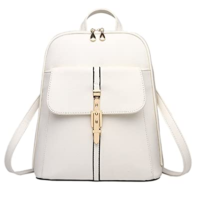 Image Unavailable. Image not available for. Color  Z-joyee Casual Purse  Fashion School Leather Backpack Shoulder Bag Mini Backpack for Women   7b8d7bda95