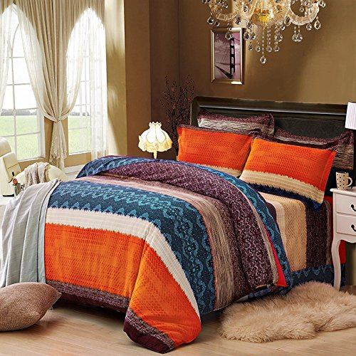 Best 4 Pieces Duvet Cover Sets Bohemian Exotic Style Bedding