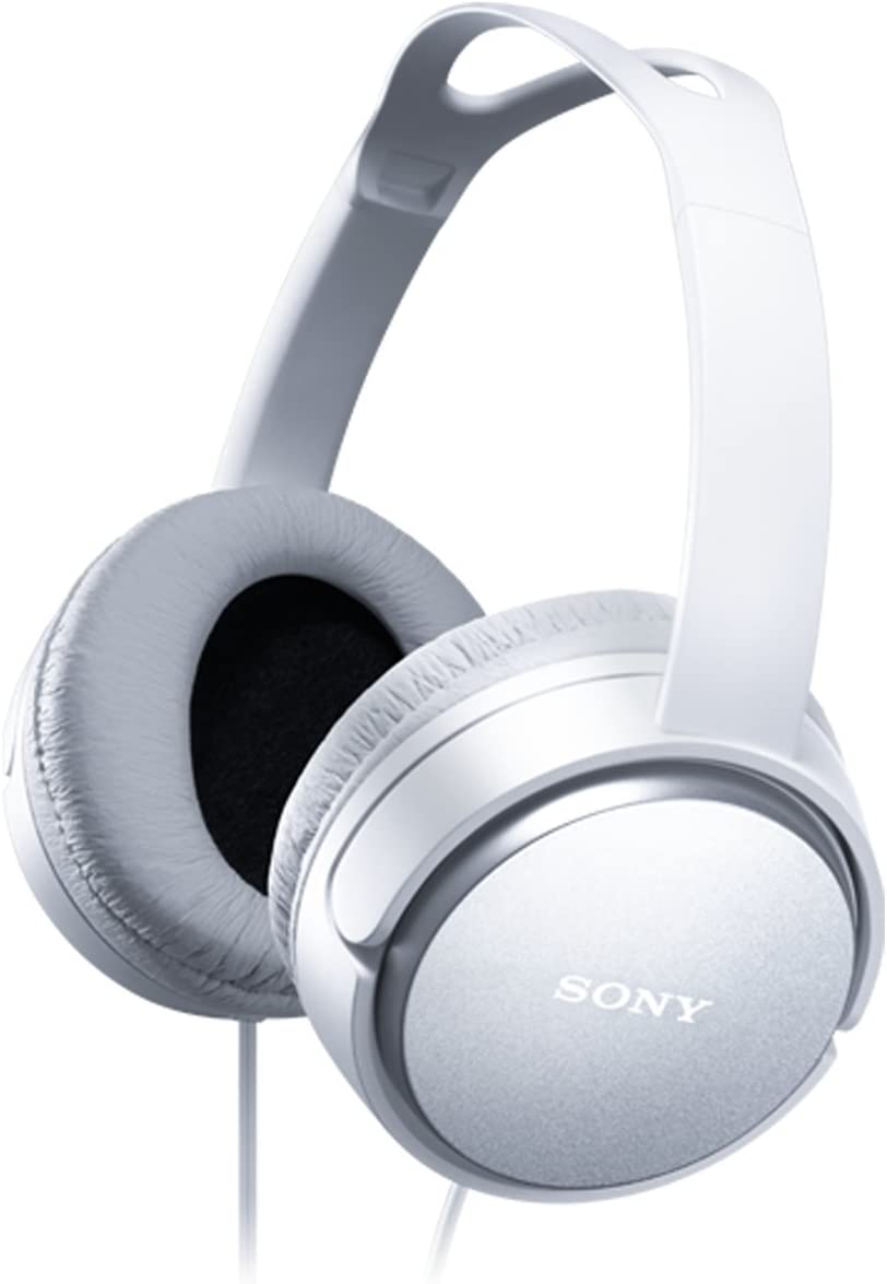 Sony MDRXD150 Home Closed Back Overhead Headphones – White
