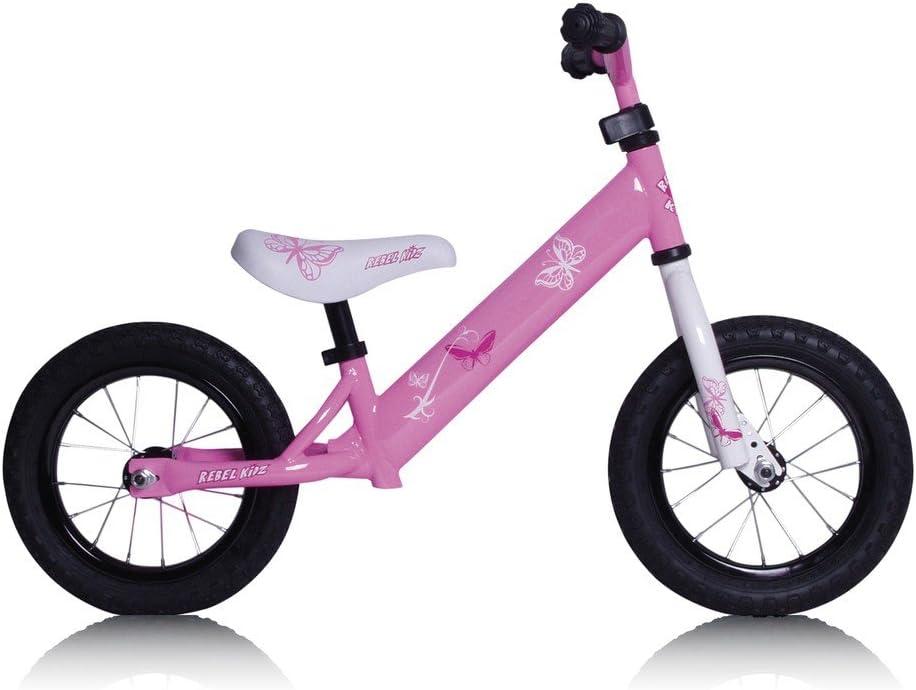 Bicicleta sin Pedales Niño Rebel Kids Mariposa Aire Rosa 12.5 pulg