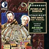 Mussorgsky: Pictures at an Exhibition; Stravinsky: Three Dances From Petrouchka