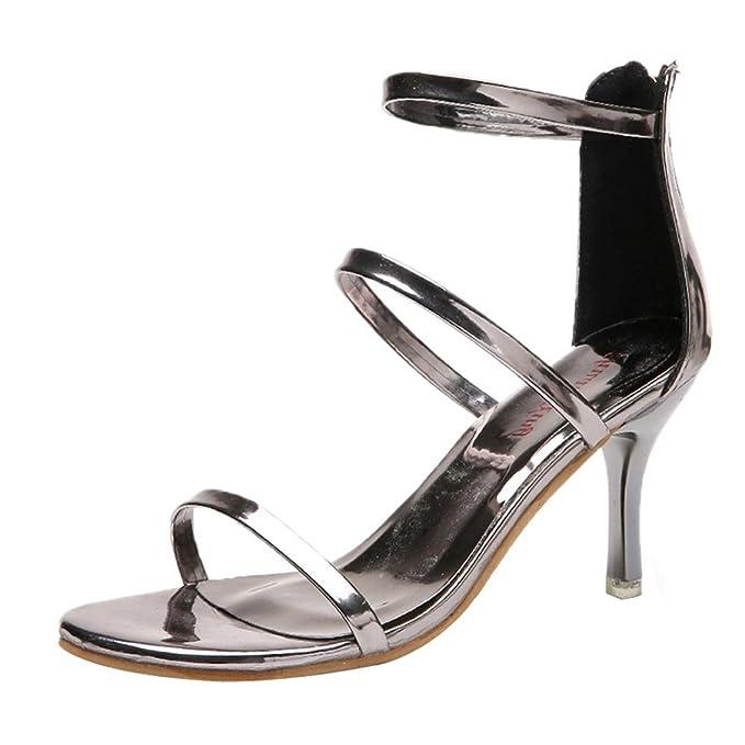 ff8197db426 DENER Women Ladies Girls Stiletto Pumps Sandals