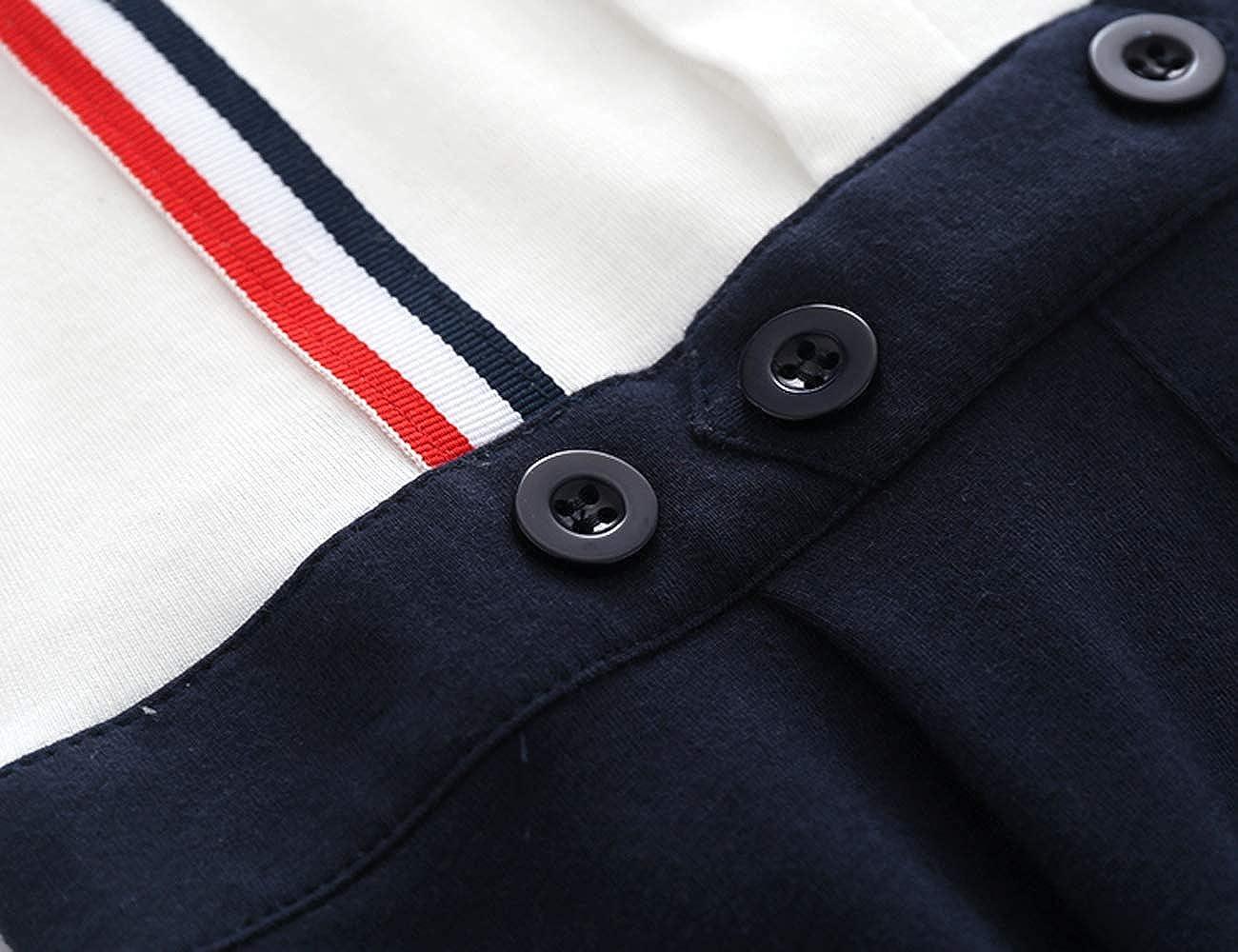Ding-dong B/éb/é Gar/çon Manches Longues Coton Gentleman Combinaison