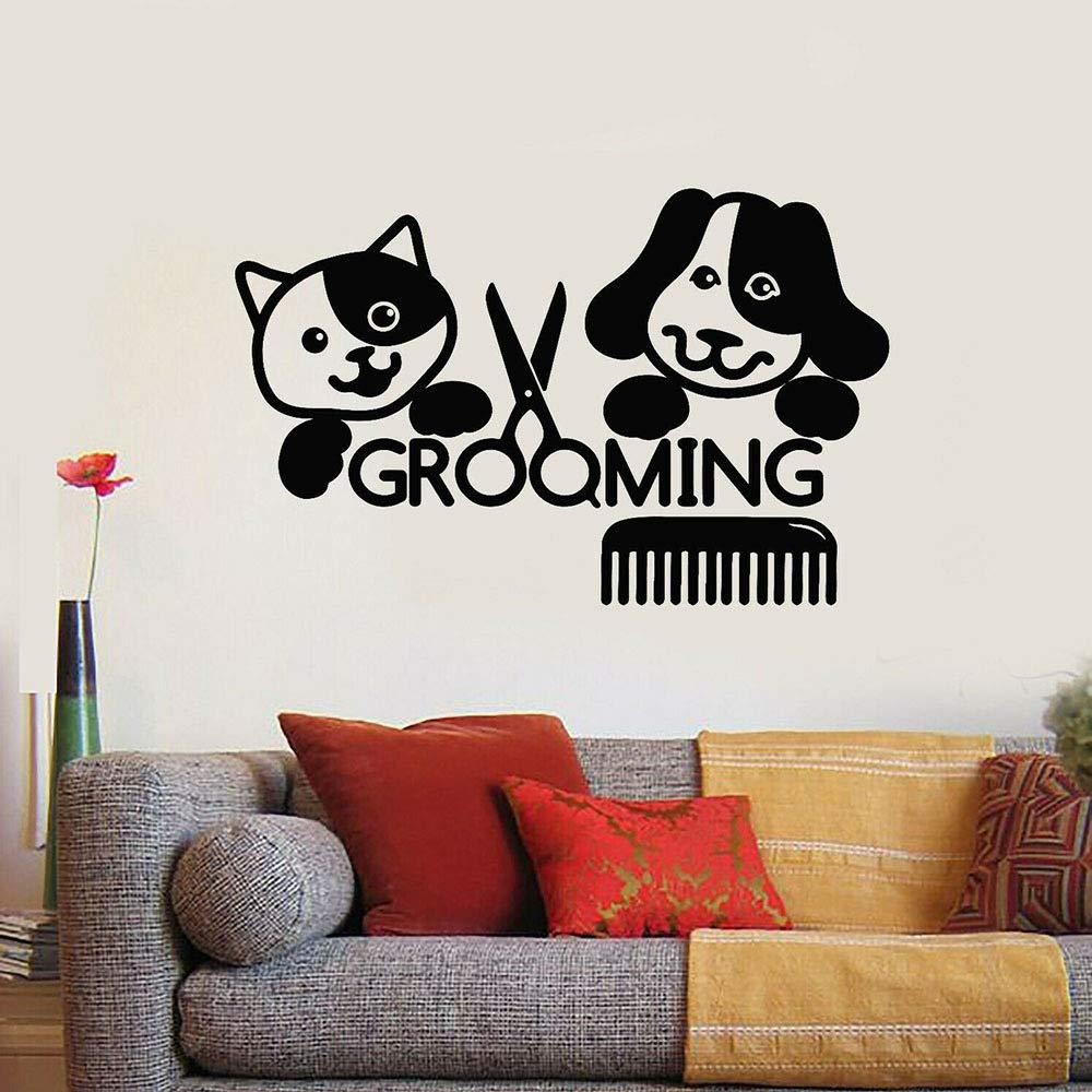 BFMBCH Belleza gato perro mascota etiqueta de la pared ...
