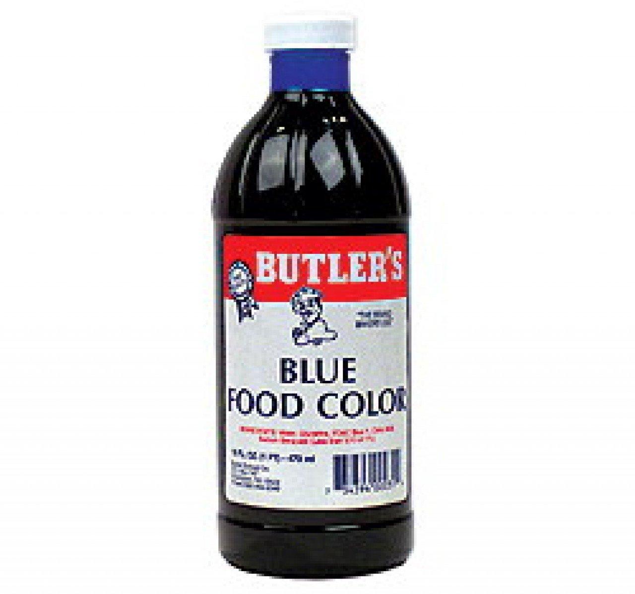 Amazon.com : Butler\'s Best Blue Food Coloring, Bottle, 16 fl oz ...