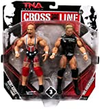 TNA Wrestling Cross the Line Series 3 Action Figure 2Pack Kurt Angle Mr. Anderson