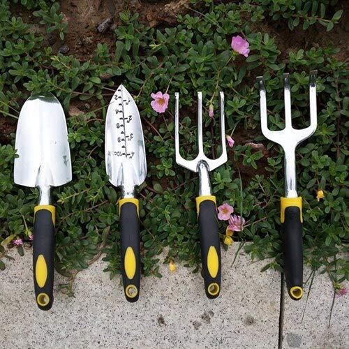 1 piece # Garden Tool Set Stainless Steel Tool Set Planting Tools Weeding Fork Trowel Soil Scoop Cultivator