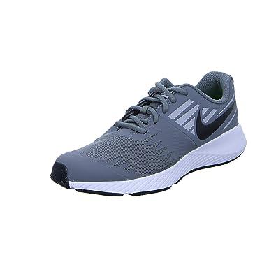 81b3580ccfe NIKE Boy s Star Runner (GS) Lightweight Running Shoe Kid s Flexible  Sneakers(Grey