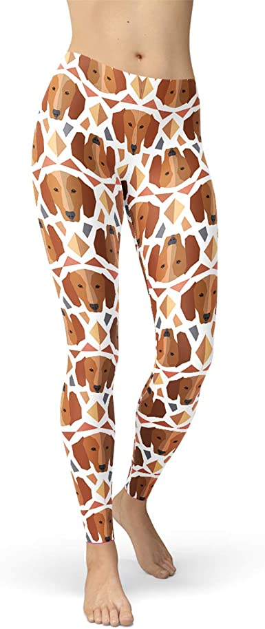 Workout Tights Hexagonal Patterned All Over Printed Gym Tights Workout Leggings Women/'s Leggings Leggings Gym Leggings