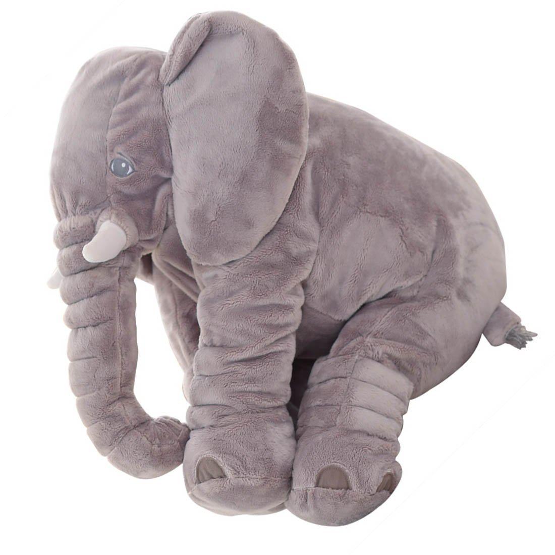 amazon com rainbow fox elephant stuffed plush toy cushion animals
