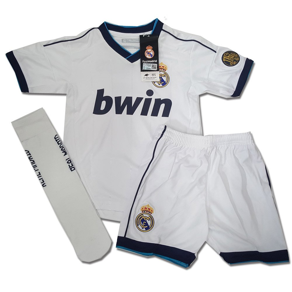 new concept baae8 373cc Children's Complete Kit Official Real Madrid Ronaldo No. 7 ...
