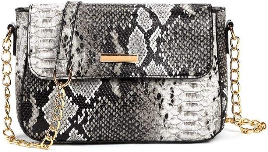 Umhängetasche Stil mit Schlangenhaut Taschen günstig kaufen