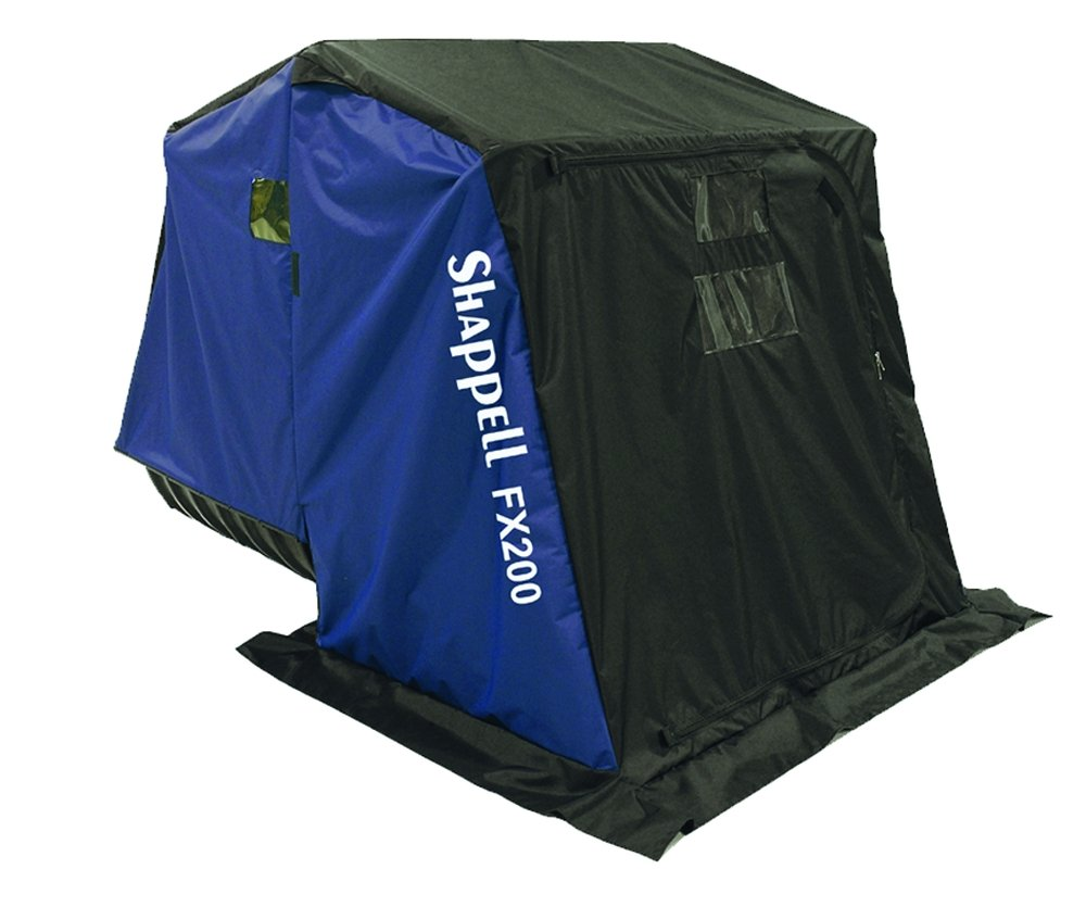 Shappell Two Man Flip Ice Shelter by Shappell