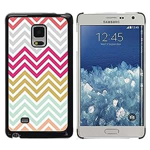 TopCaseStore / la caja del caucho duro de la cubierta de protección de la piel - Gold Purple Grey Blue - Samsung Galaxy Mega 5.8 9150 9152