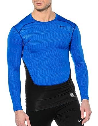 6fae6cfb Nike Pro Combat Hyperwarm Compression LS Small Shirt 588890-494 Men ...