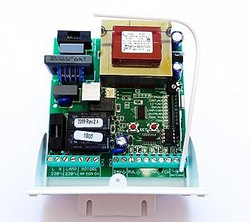 Central tarjeta electrónica universal 230 V puerta ...
