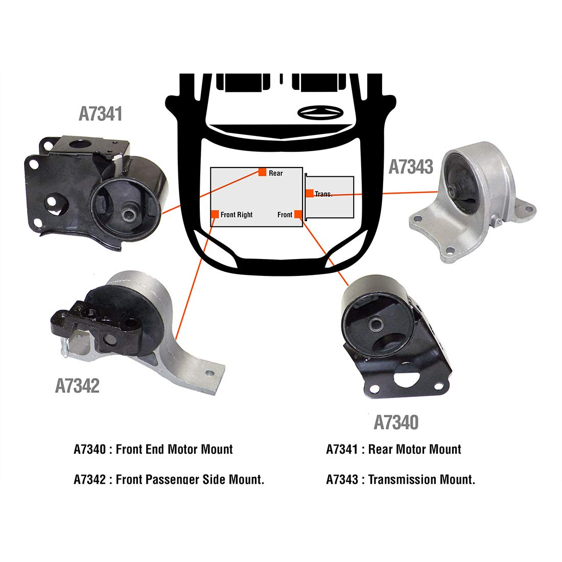 Nissan/Altima DNJ MMK638 Complete Engine Motor & Transmission ...