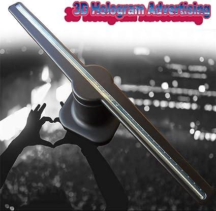 Holograma LED 3D,Publicidad De Holograma 3D Ventilador Proyector ...