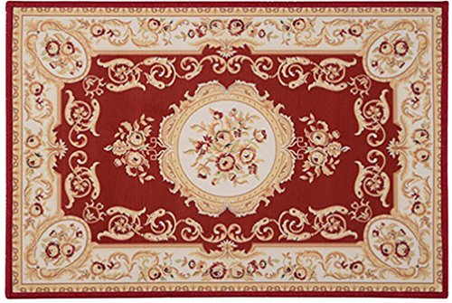 BAferetees Oriental Style Doormat Carpet Home Decor Area Rugs Bedroom Floor Living Room Mat HDZ008 400mm x 600mm 400 Mm Basket