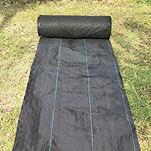 agfabric pro 5oz weed barrier landscape fabric for raised bed durable heavy duty. Black Bedroom Furniture Sets. Home Design Ideas