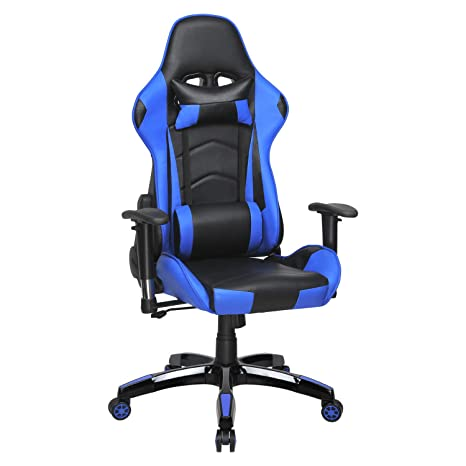 Peachy 4Homart Gaming Chair High Back Ergonomic Style Racing Chair Leather 180 Degree Reclining Computer Chair 360 Degree Swivel Adjustable Office Chair Andrewgaddart Wooden Chair Designs For Living Room Andrewgaddartcom