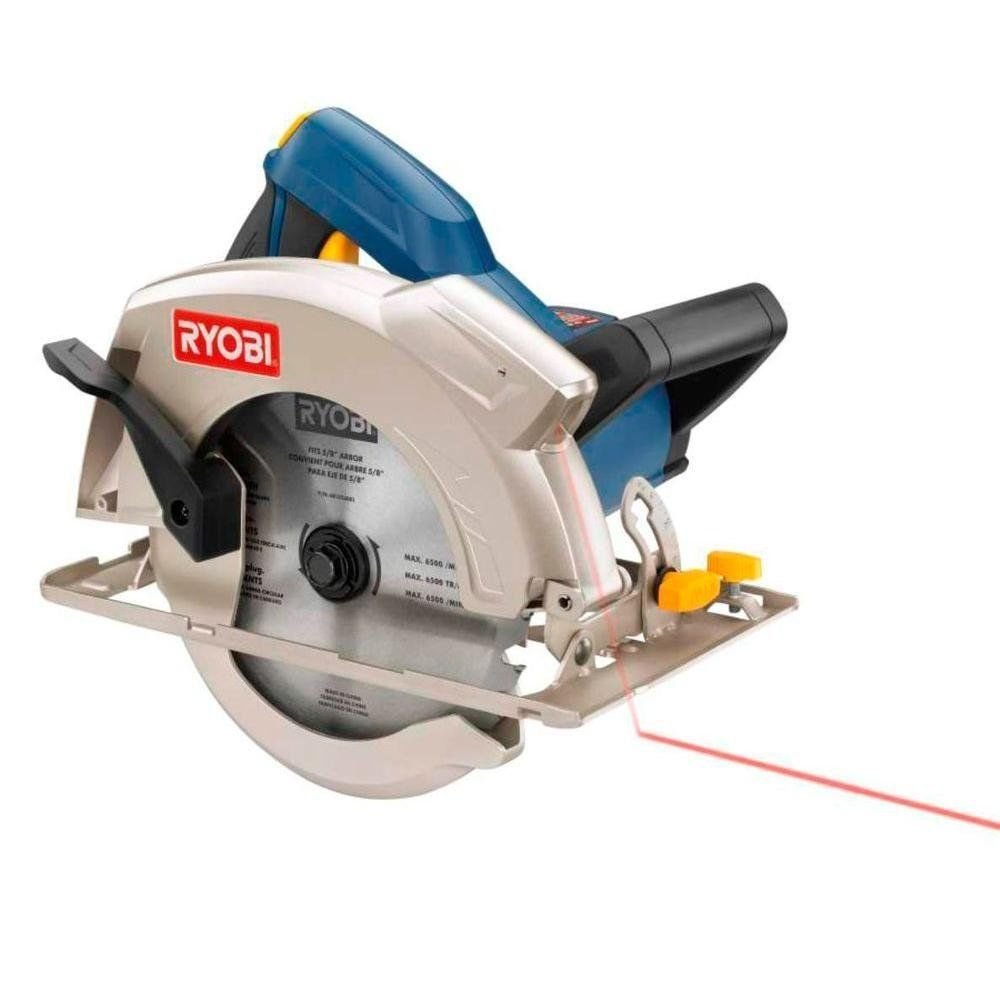 Ryobi csb134l 13 amp 7 14 circular saw csb133l amazon greentooth