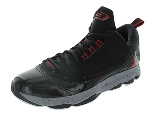 timeless design 92a11 be7aa Nike Men s Jordan CP3.VI AE Black Gym Red Cement Grey Wht