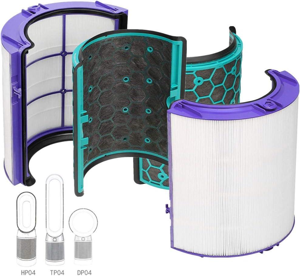 Sweet D Purificador de Aire Dyson HP04 Pure CoolTM Filtro HEPA de ...