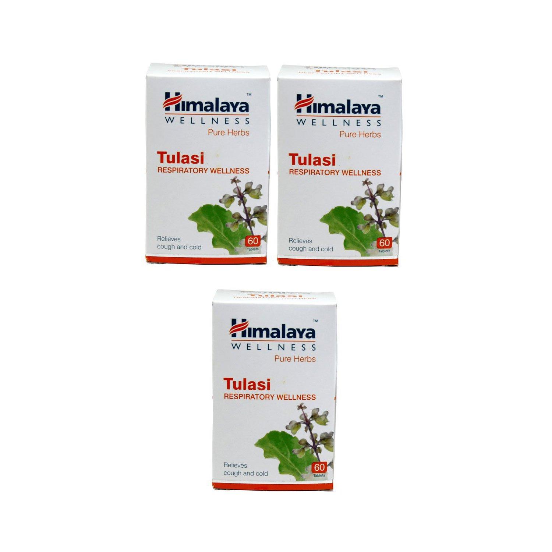 Himalaya Tulasi 60 Tablets, Pack of 3