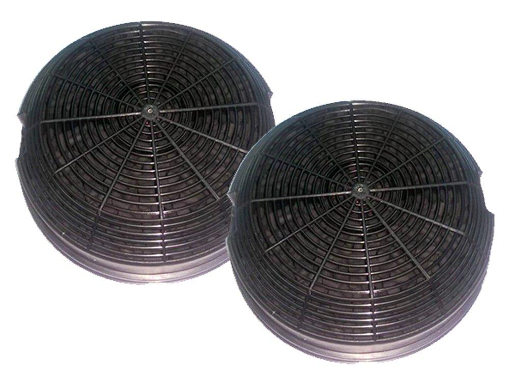 2 Filtres pour hotte Elica ø150 charbons actifs