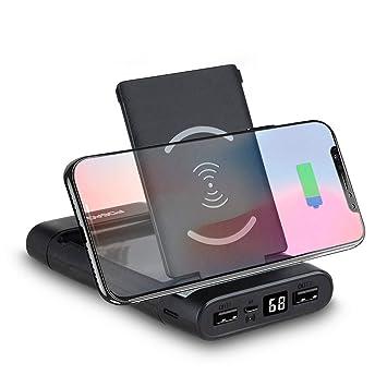 ADDANY - Batería Externa para iPhone, iPad, iPod, Samsung ...
