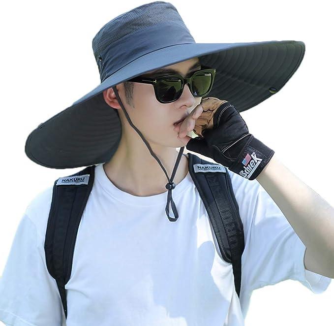 Amazon.com: Outdoor Sun Hat Waterproof Fishing Hat for Man