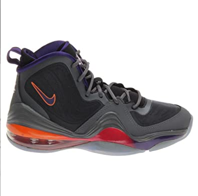 Nike Gray Air Penny 5 Basketball Shoes Youth Size 6.0 537640-008