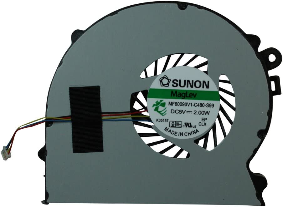 Sony Vaio VPCSB3M1R//L Sony Vaio VPCSB3L9E//W Power4Laptops Replacement Laptop Fan for Sony Vaio VPCSB3L9E//S Sony Vaio VPC-SB3L9E//SV Sony Vaio VPCSB3L9E//SV