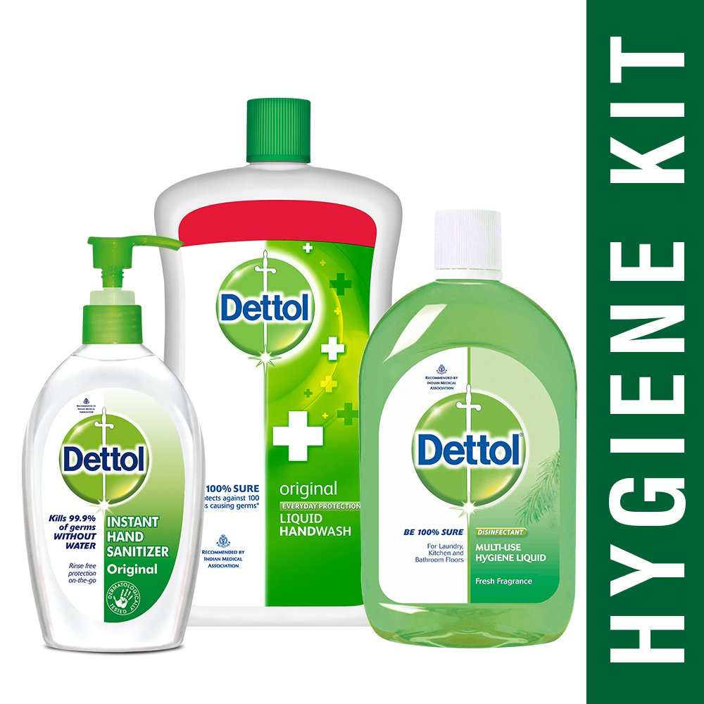 Buy Dettol Sanitizer Original 200 Ml With Handwash 900 And Hand 50 4 Pcs Multi Hygiene 500 Online At Low Prices In India
