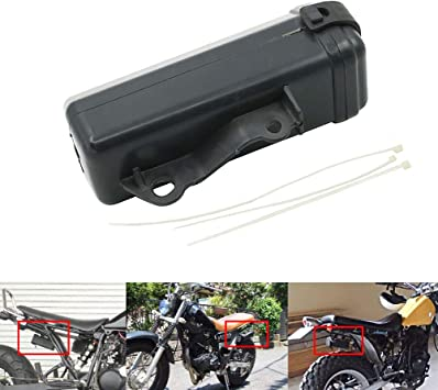 Tool Box Holder Bottle for Suzuki DR250 Djebel TW200 TW225 Motorcycle