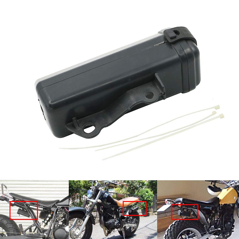 Black Motorcycle Tool Box Holder for Suzuki DR250 Djebel TW200 TW225