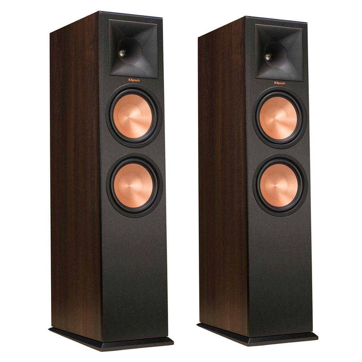 Klipsch RP-280F Walnut Floorstanding Speakers (Pair) by Klipsch