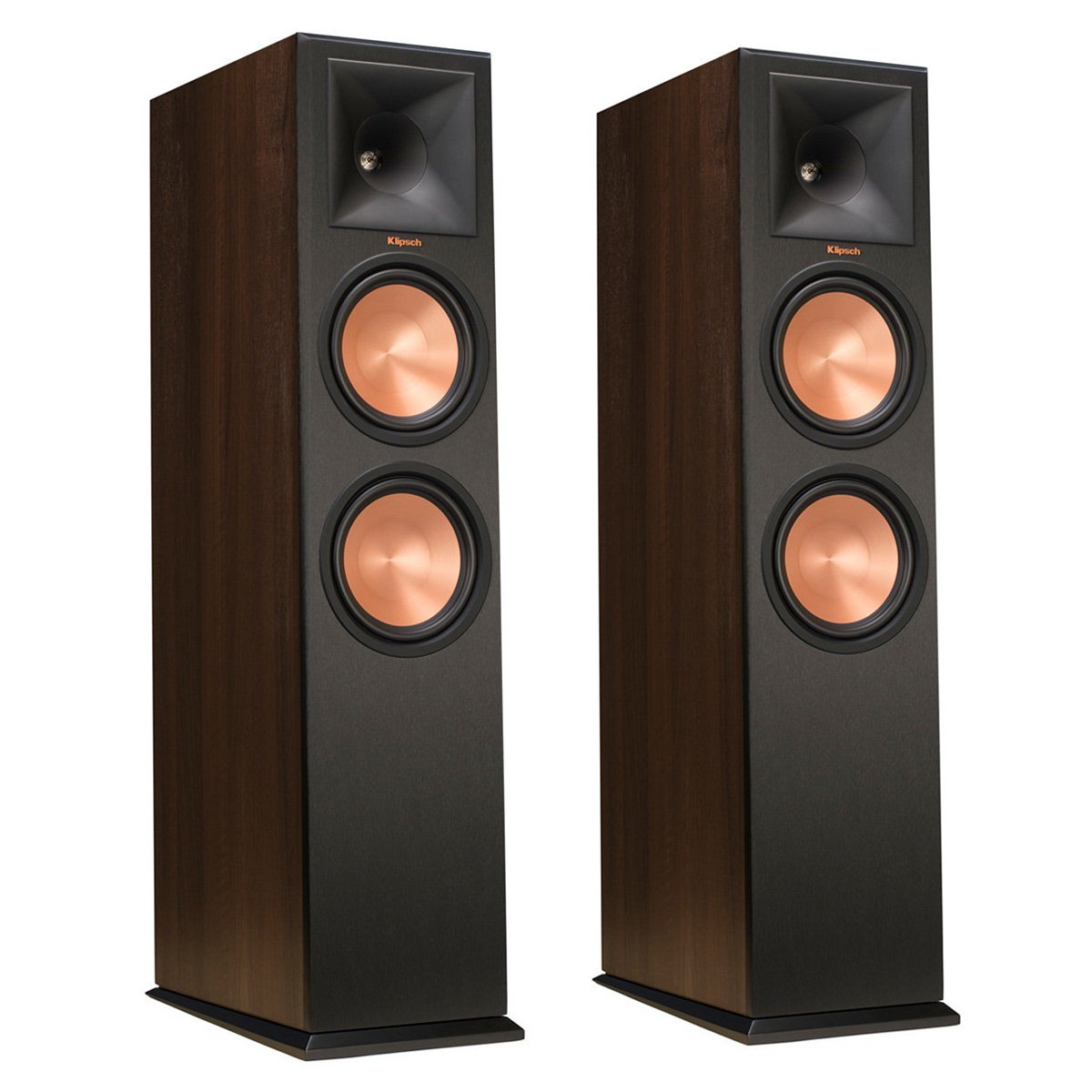 Klipsch RP-280F Walnut Floorstanding Speakers (Pair)