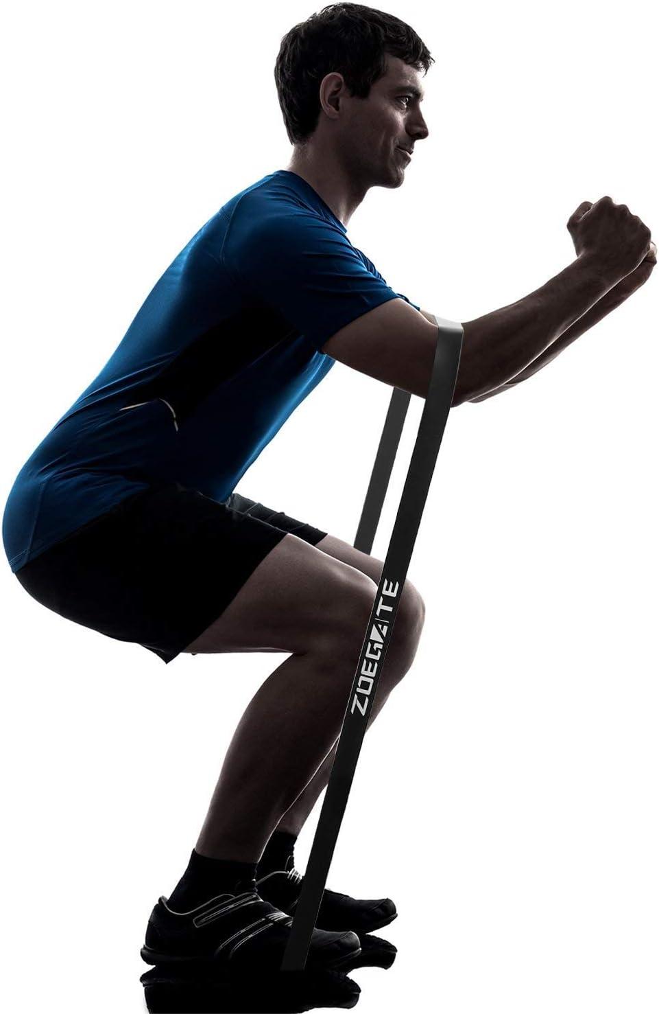 Speedsporting Sport Bande Elastique de R/ésistance Band Bande /Élastique Fitness Bande de R/ésistance pour Fitness Yoga Entrainement Crossfit et Motrice