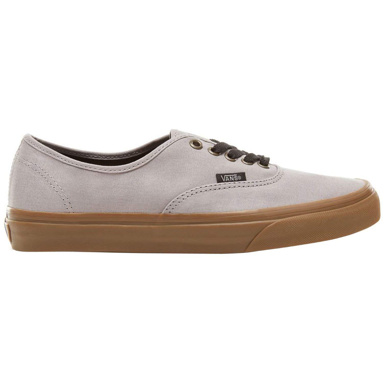 a03c7962e8 Galleon - Vans Unisex Authentic (Gum Outsole) Alloy Gray Black Fashion  Sneaker (9 D(M) US Men 10.5 B(M) US Women)