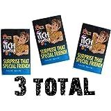 (3) Itch Itching Powder Packages ~ Prank Joke Trick Gag Funny Joke Trick Magic