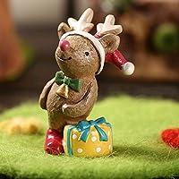 ETbotu Suministros de Navidad para Mascotas Acuario Decoración