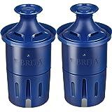 Brita Longlast Filtro de agua, filtros de repuesto de larga duración para jarra y dispensadores ,, Duradero, Azul oscuro…