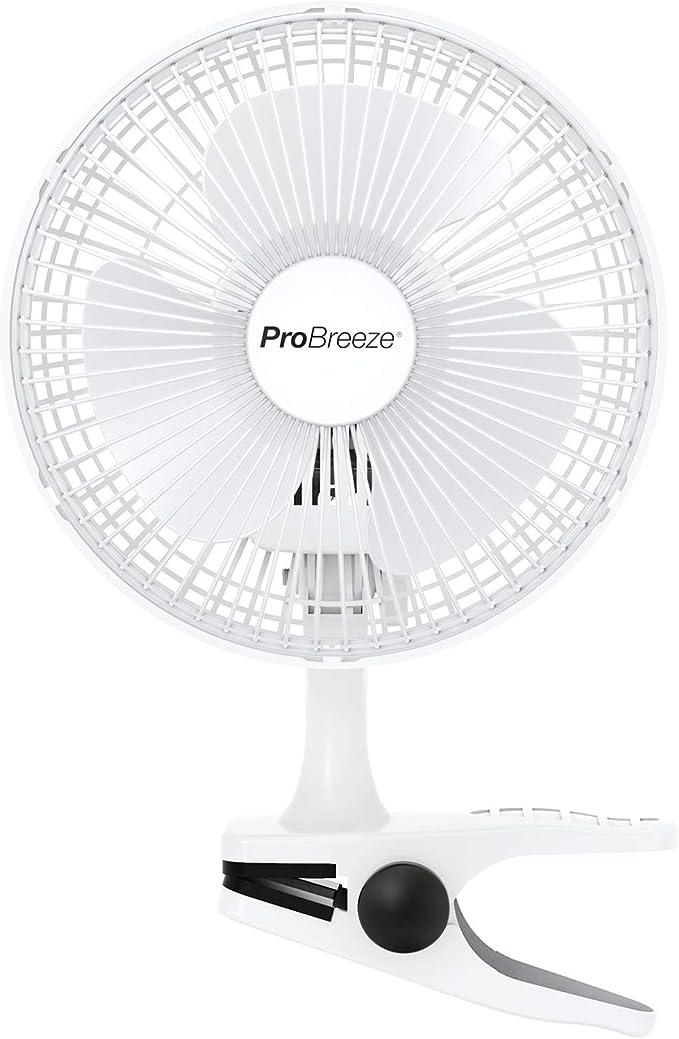 Pro Breeze Mini Ventilador de Sopremesa con Clip I Pequeño ...